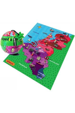THE PURPLE COW Gent City Puzzle Magnets 2014
