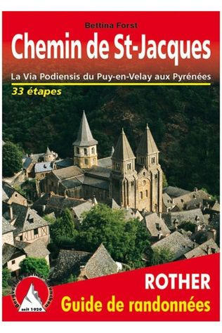 Rother Chemin De St-Jacques Via Podiensis Puy-En-Velay-Pyrénées 2021