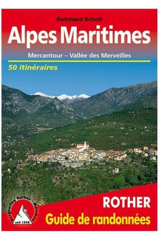 Rother Alpes Maritimes Guide 50T Mercantour/Val. Merveilles 2021