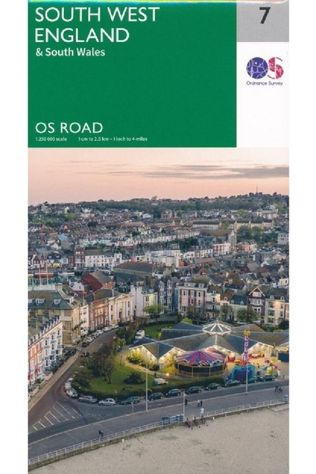 Ordnance Survey England South West / South Wales 2020