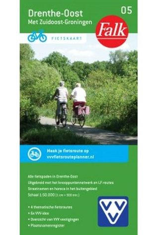 Falk Drenthe-Oost 5 cycle map 2017