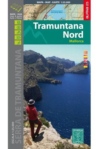 Alpina Editorial Mallorca -Tramuntana Norte Gr11 Map&Hiking Guide - Alpina 25 2017