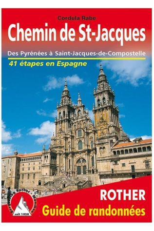 Rother Chemin St-Jacques En Espagne Guide 41 Ét. 2019