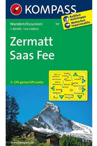 KOMPASS Zermatt / Saas Fee 9023