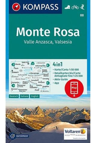 KOMPASS Monte Rosa D/I/E + Aktive Guide 2019