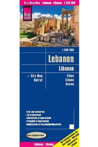 REISE KNOW-HOW Libanon Rkh R/V (R) Wp Gps 2018