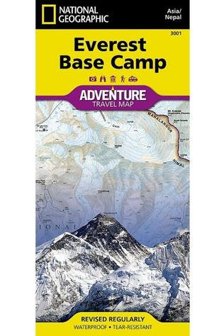 National Geographic Everest Base Camp adv. ng r/v (r) wp Nepal 2004