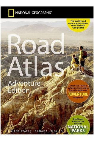 National Geographic USA Canada Mexico road atlas ng Adventure ed. 2020