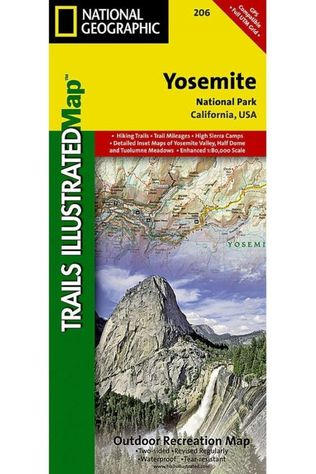 National Geographic Yosemite NP 206 GPS ng r/v wp /California 2016