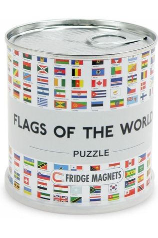 EXTRAGOODS Flags Of The World Puzzle Fridge Magnets Mi 100 Pieces 2016