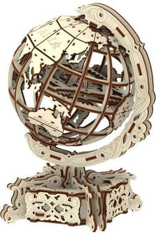 WOODEN CITY World Globe 3D Puzzle 2020