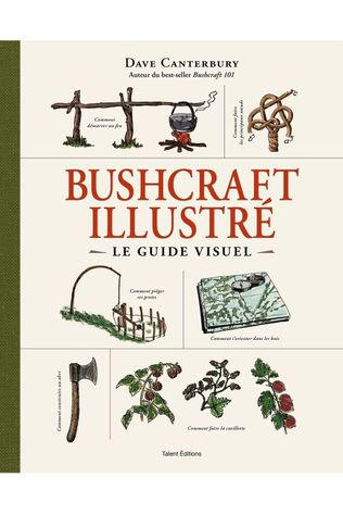 Outdoor French Book Out Bushcraft 101 2019