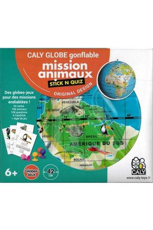 Caly Toys Stick N Quiz 42 Mission Animaux 2018