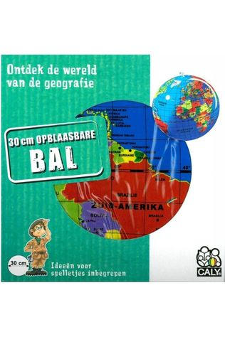 Caly Toys Livre de Voyage Opblaasbare bol 30 pol. new globe caly toys 2015