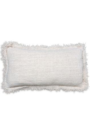 Yaya Home Kussen Cushion With Ruffles Gebroken Wit