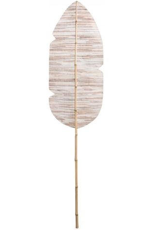 Yaya Home Decoratie Decorative Banana Leaf Lichtbruin