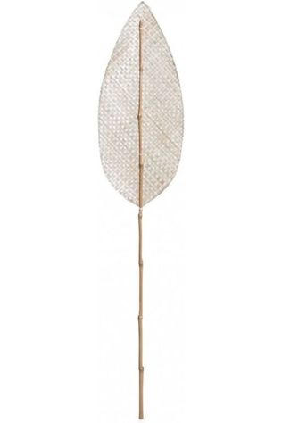 Yaya Home Decoratie Decorative Woven Leaf Zandbruin