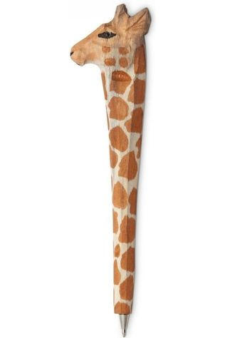 Yaya Home Accessoire Maison Animal Pencil Giraffe Orange