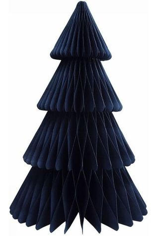 &K CHRISTMAS COLLECTION &K CHRISTMAS TREE PAPER LARGE dark blue