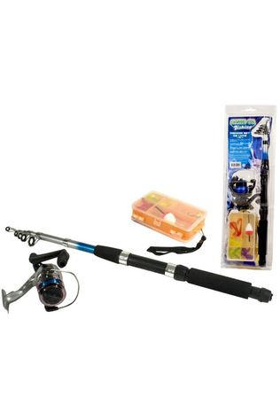 Game On Fishing Toys Fishing Set De Luxe Telescopic 210Cm No colour