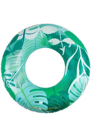 Swim Essentials Toys Tropical Swimming Ring  mid green/light green
