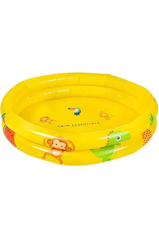 Swim Essentials Toys Unisex Yellow Baby Swimming Pool mid yellow