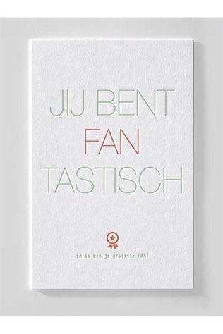 Papette Greeting Cards  Enna Jij Bent Fantastisch No colour / Transparent