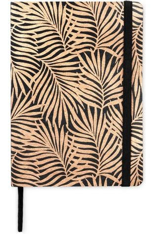 Yaya Home Papierwaren Notebook Leaves Oranje