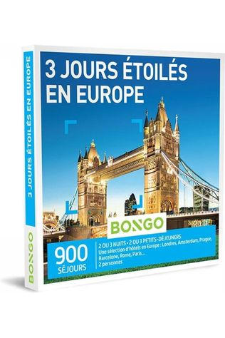 Bongo BONG 3 JOURS ÉTOILÉS EN EUROPE No colour / Transparent