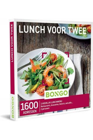 Bongo BONG LUNCH VOOR TWEE No colour / Transparent