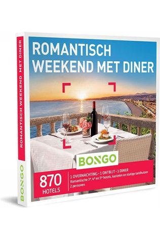 Bongo BONG ROMANTISCH WEEKEND MET DINER No colour / Transparent