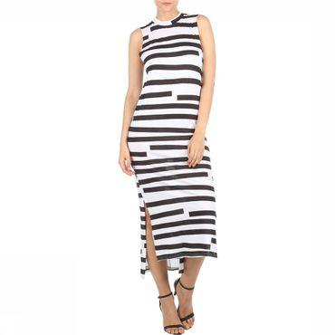 Jurk Twine Dress Odd Stripe