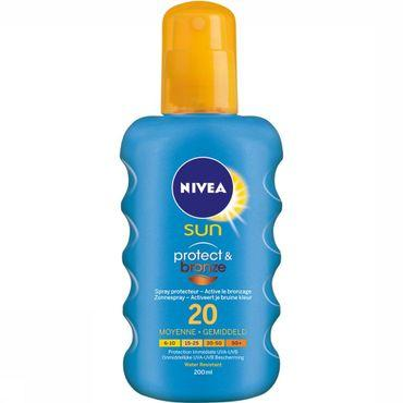 Protéction Solaire SPF20 200ML Protect & Bronze