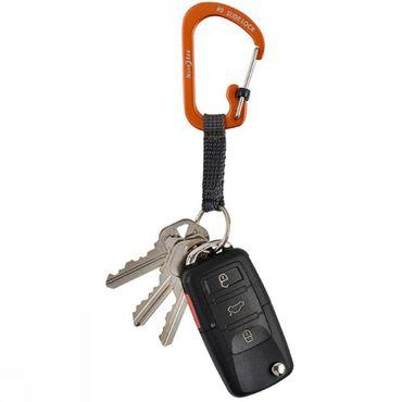 Karabiner Slidelock Key Ring Aluminum