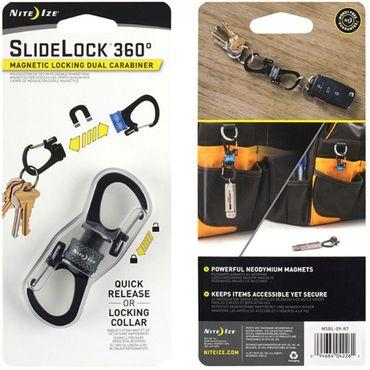 Karabiner Slidelock 360° Magnetic Locking Carabiner