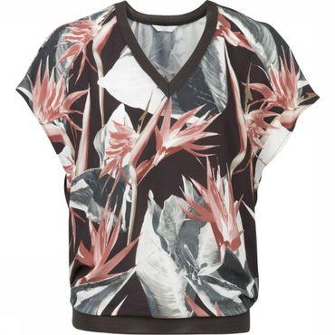 Shirt Woven Jungle Flower Print