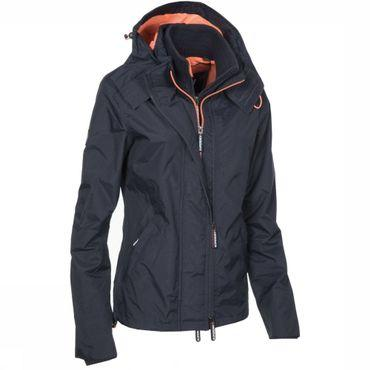 Manteau Technical Hooded Pop Zip