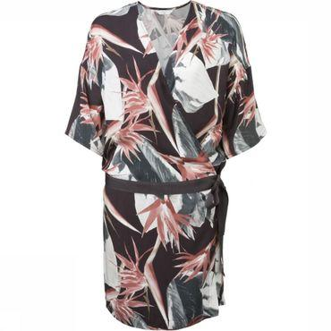 Jurk Wrap Jungle Flower Print