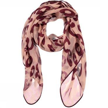 Scarf Beatrice Weaved Leopard