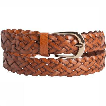 Ceinture Avery Leather Breaded