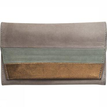 Portefeuille Leather Clutch