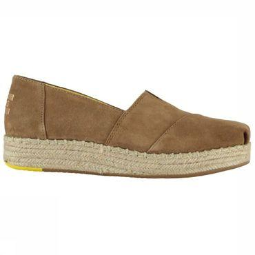 Shoe Toffee Suede Wm Platalp Esp