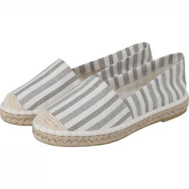 Shoe Striped Espadrille