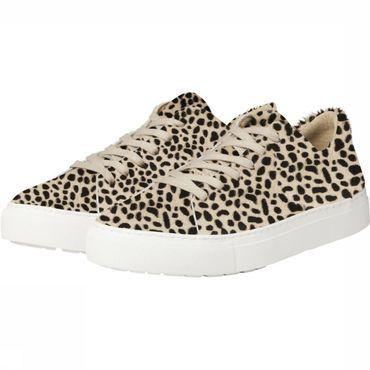 Sneaker Low Ponyhair With Animal Print