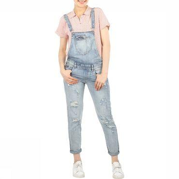 Jumpsuit Kim  Witty Loose Denim Overall