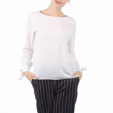 Shirt Sfcaria Ls Sleeve Tie Top