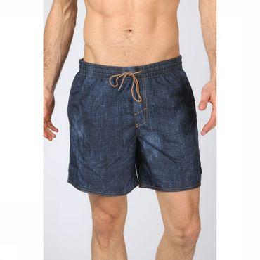 Swim Shorts Pm Denim Print Shorts