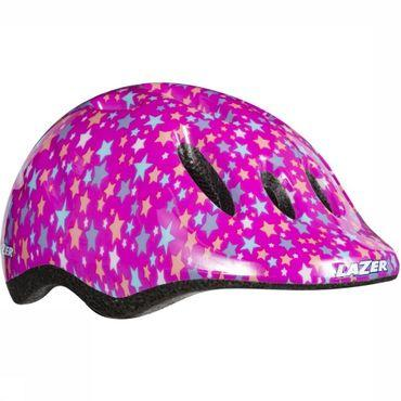 Bicycle Helmet Max Purple Stars