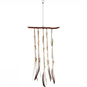 Wall Decoration African Hanger Feathers