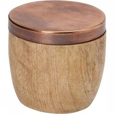 Wooden Box Magnetic Lid